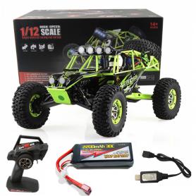 Coche RC Crawler Wltoys CROSS COUNTRY 1/12 50Km/h (Brushed) con batería 2200mAh