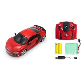 Audi R8 GT rojo 1/24