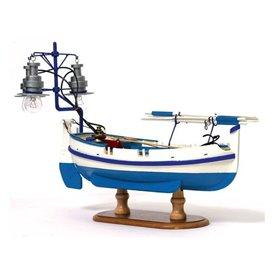Barca de luz Calella - OCCRE
