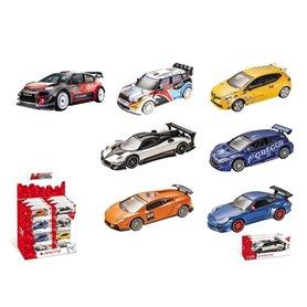 Surtido coches rally de colección 1/43 Mondo