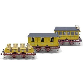 Vagones Locomotora Adler - OCCRE