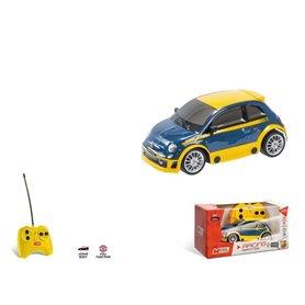 COCHE RC FIAT ABARTH 500 RALLY 1/28 MONDO