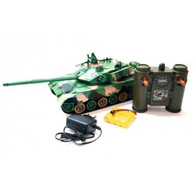 TANQUE VERDE CAMUFLAJE 1/28 RTR