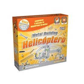 Helicóptero metálico para montar