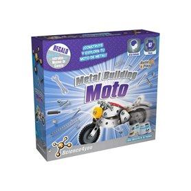 Moto metálica para montar