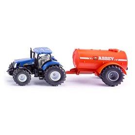 Tractor con cisterna - SIKU