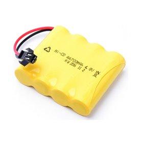 Batería Ni-CD 4,8V-700mAh para coches RC Wltoys Allterrain