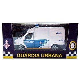 Furgoneta guardia urbana Barcelona