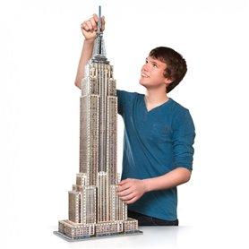 Wrebbit - Puzzle 3D Empire State New York 975 piezas