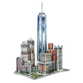 Wrebbit- Puzzle 3D World trade 875 piezas