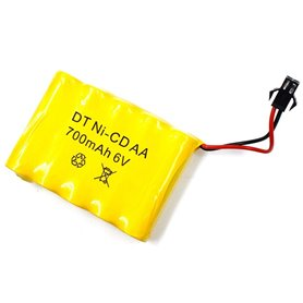 Batería Ni-MH 6V-500mAh (JST SM) para Jeep BG1522 y Drift SPEED RACING QY1822