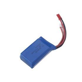 Batería Lipo 7,4V 1100mAh 20C (JST Bec)