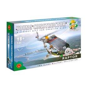 Helicóptero militar de 2 hélices Raptor