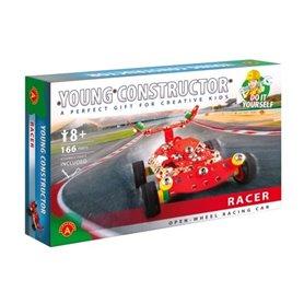 Coche de carreras racer rojo