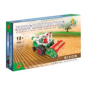 Tractor segador bison