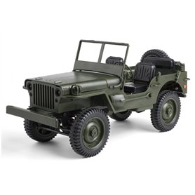 COCHE MILITAR JEEP WILLYS 1/10 RC