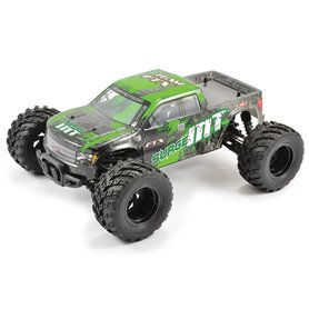 Coche rc monster truck 1/12 Surge brushed 4wd RTR verde FTX