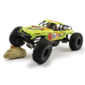 Coche rc rock crawler mauler brushed 1:10 amarillo  FTX