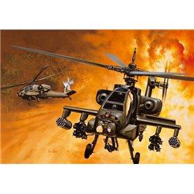 Helicoptero militar 1/72 AH-64A Apache - ITALERI