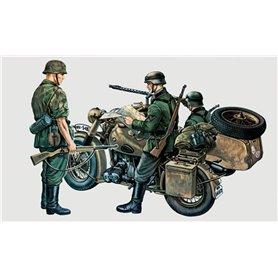 Moto militar con sidecar BMW R75 1/35 - ITALERI