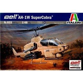 Helicoptero militar 1/48 AH-1W Supercobra - ITALERI