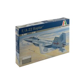 Maqueta Avión Militar Italeri Aircraft  F-22 RAPTOR 1/48