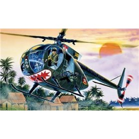 Helicoptero militar 1/72 OH-6 A Cayuse - ITALERI