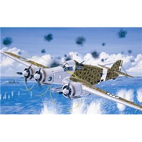 Aircraft 1/72 S-79 Sparviero, II guerra mundial - ITALERI