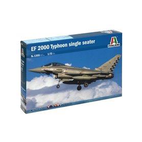 Maqueta Avión Italeri EF-2000 TYPHOON 1/72 (1 asiento)