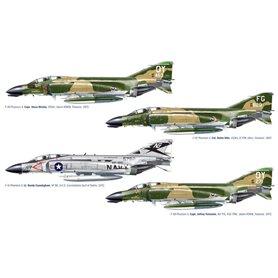 Aircraft F-4 C/D/J Phantom II Aces USAF-US Navy Vietnam ACES 1/72 - ITALERI
