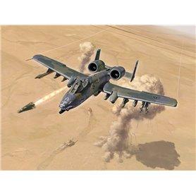 "Aircraft 1/72 A-10 A/C THUNDERBOLT II ""GULF WAR"" - ITALERI"