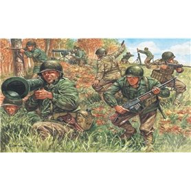SOLDIERS 1/72 'WWII- AMERICAN INFANTRY