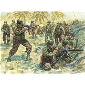 SOLDIERS 1/72 WWII- AMERICAN INFANTRY - ITALERI
