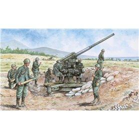 SOLDIERS 1/72 ITALIAN 90/53 GUN WITH CREW