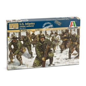 SOLDIERS 1/72 WWII US INFANTRY WINTER UNIFORM