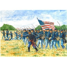 HISTORICS 1/72 AMERICAN CIVIL WAR UNION INFANTRY