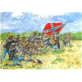 HISTORICS 1/72 AMERICAN CIVIL WAR CONFEDERATE INFANTRY