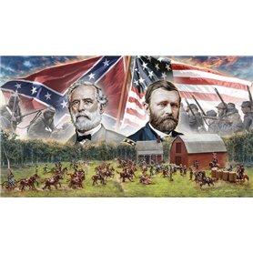 BATTLE SET 1/72 FARMHOUSE BATTLE AMERICAN CIVIL WAR 1864