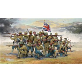 HISTORICS 1/72 British Infantry with Sepoys (Colonial wars)