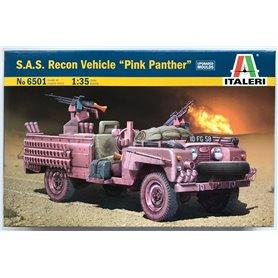 Camion militar 1/48 SAS Recon vehicle Pink Panter - ITALERI