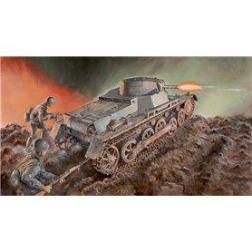 Tanque 1/35 Pz. Kpfw. I Ausf. B - ITALERI