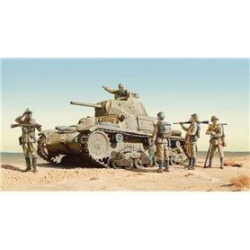 Tanque 1/35 M14/41 I SERIE with Italian I - ITALERI