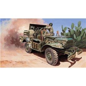 Camion militar 1/35 M6 Gun Motor Carriage WC-55 - ITALERI
