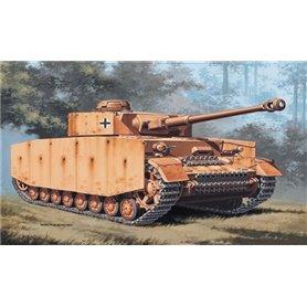 Tanque 1/72 'PZ. KPFW. IV - ITALERI