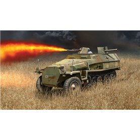 Tanque 1/72 Sd. Kfz. 251/16 Flammpanzerwagen