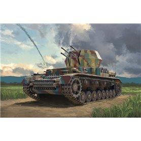 Tanque 1/72 Flakpanzer IV Wirbelwind - ITALERI