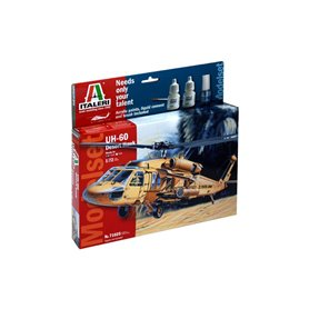 Model set 1/72 UH 60 Desert Hawk - ITALERI