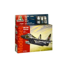 Model set avion MIG - 29A ''Fulcrum'' 1/72 - ITALERI