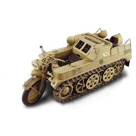 Moto militar 1/9 KETTENKRAD - ITALERI
