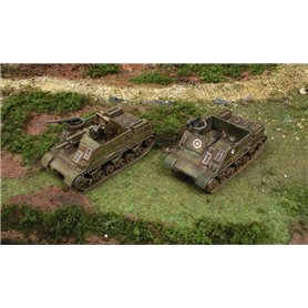 Tanques 1/72 M7 Priest / Kangaroo  (2 Fast assembly) - ITALERI